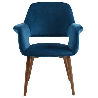 Miranda Accent Chair in Blue