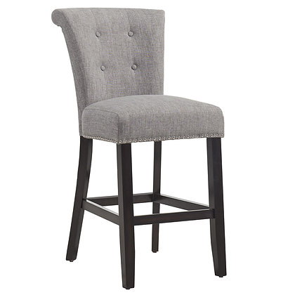"Selma 26"" Counter Stool in Coffee/Grey 2pk"