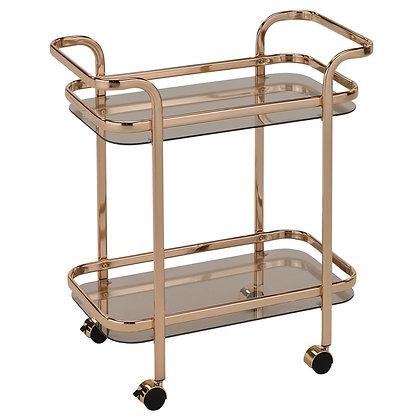 Zedd 2-Tier Trolley in Gold