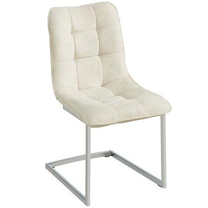 Galyn Side Chair in Beige 2pk
