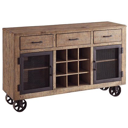 Lakeview Server in Vintage Pine
