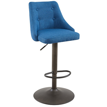 Adyson Gas Lift Stool in Blue 2pk