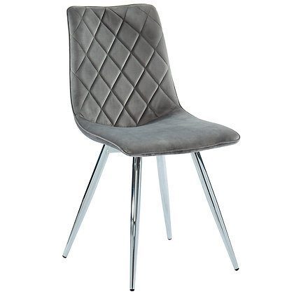 Marlo Side Chair in Grey 2pk