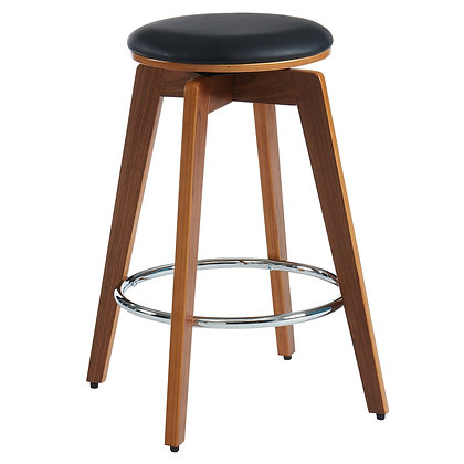 "Rotman 26"" Counter Stool in Black 2pk"