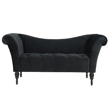 Martina Settee in Black