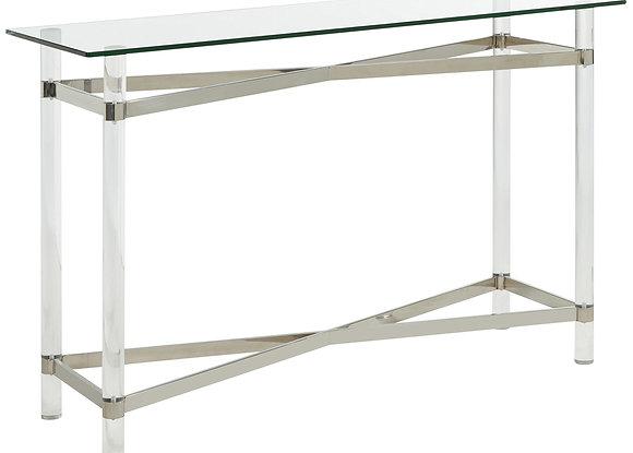 Morelia Console Table in Chrome