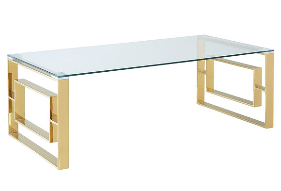 Eros Coffee Table in Gold