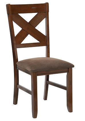 Nashville Side Chair in Walnut 2pk