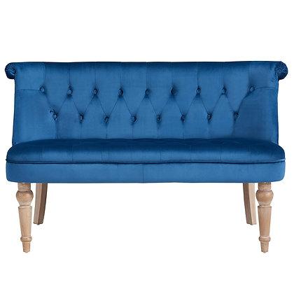 Malika Settee in Blue