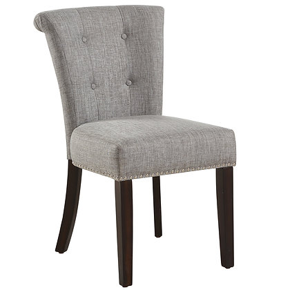 Selma Side Chair in Light Grey 2pk