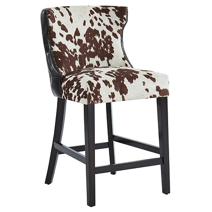 Angus 26'' Counter Stool in Brown 2pk