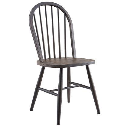 Hillside Side Chair in Gunmetal 2pk