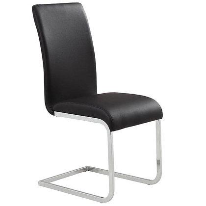 Maxim Side Chair in Black 2pk