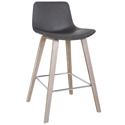 """Durant 26"""" Counter Stool in Charcoal 2pk"""