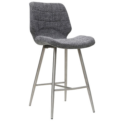 """Cooper 26"""" Counter Stool in Grey Blend 2pk"""