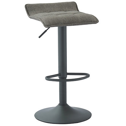 Pluto Gas Lift Stool in Grey 2pk