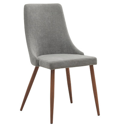 Cora Side Chair in Grey 2pk