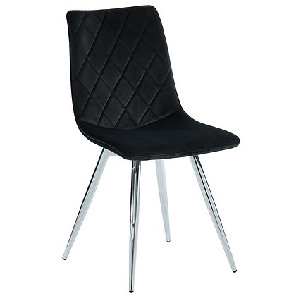 Marlo Side Chair in Black 2pk
