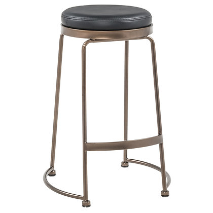 Alina 26'' Counter Stool in Black 4pk