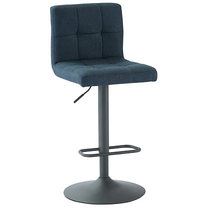 Sorb Gas Lift Stool in Blue and Grey 2pk