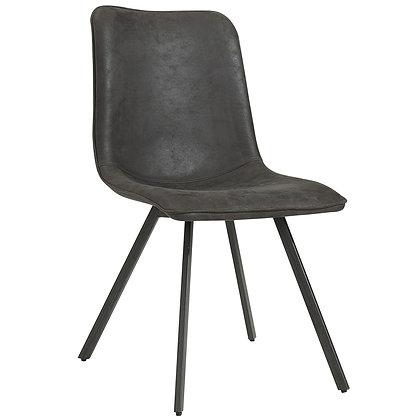 Buren Side Chair in Vintage Grey 2pk