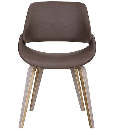 Serano Accent Chair in Brown