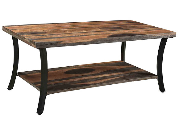 Surin Coffee Table in Natural and Grey 2-Tone