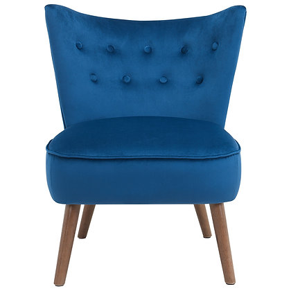 Elle Accent Chair in Blue