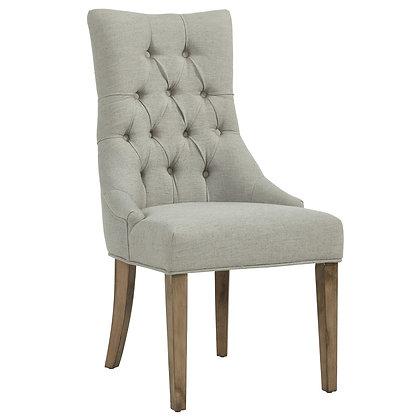 Sinatra Accent Chair in Grey w/Grey Legs