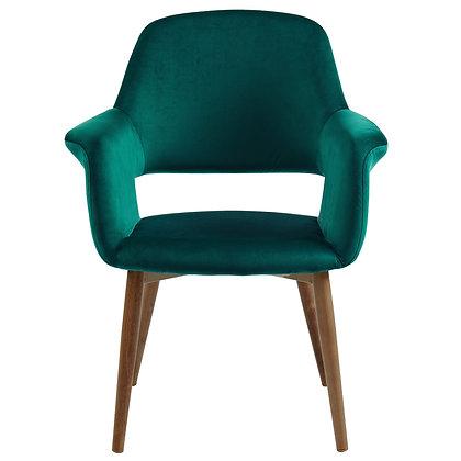 Miranda Accent Chair in Green