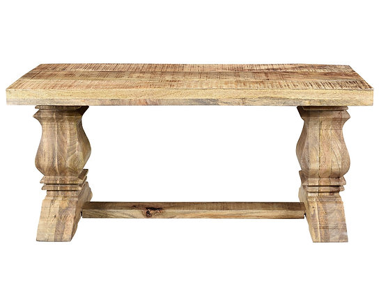Takhur Double Bench in Natural