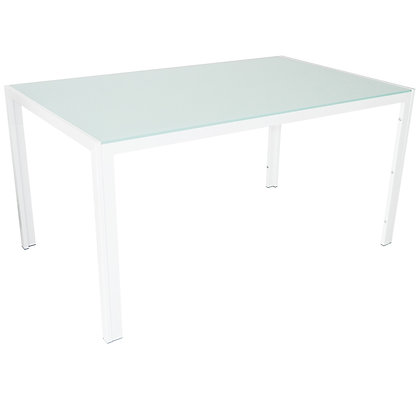 Contra Dining Table in White