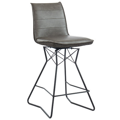 "Monaco 26"" Counter Stool in Brown 2pk"