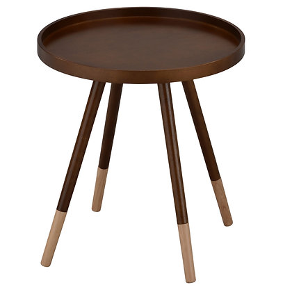 Hue Accent Table in Walnut