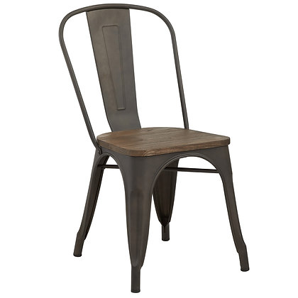 Modus Side Chair in Gunmetal 4pk