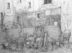 """""""Chez Mouss"""", Saint-Ouen, Imp Juif"""