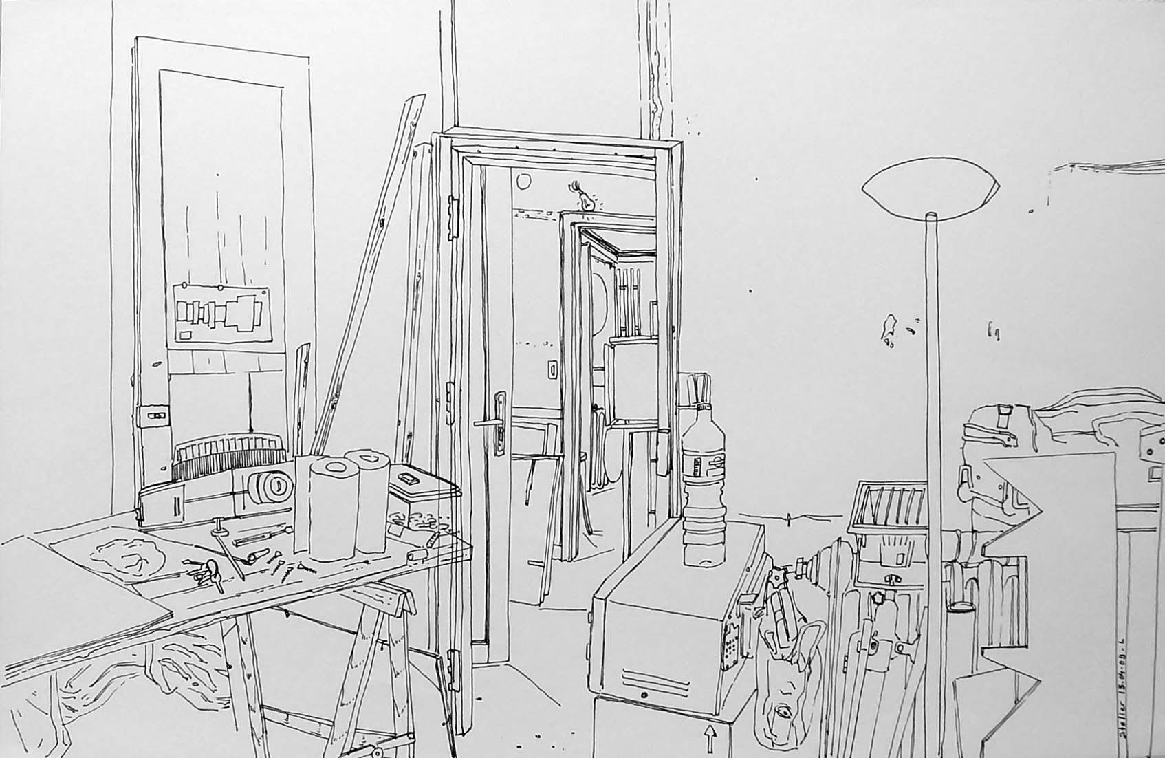 """""""Atelier de Saint-Denis"""", 14"""