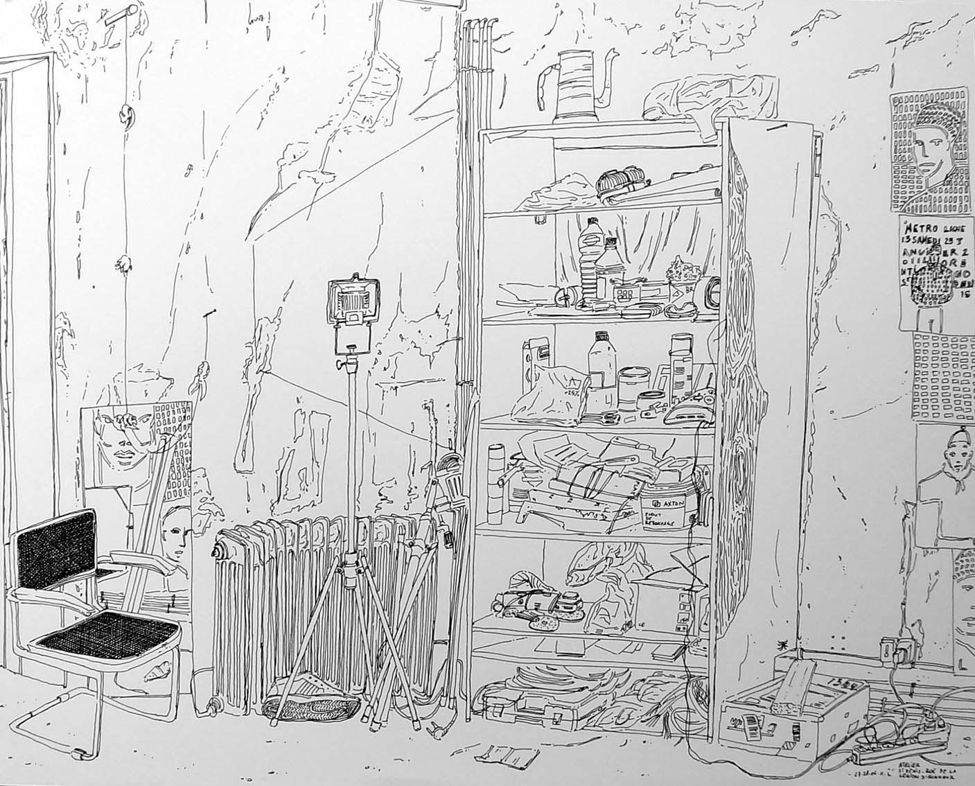 """""""Atelier de Saint-Denis"""", 1"""