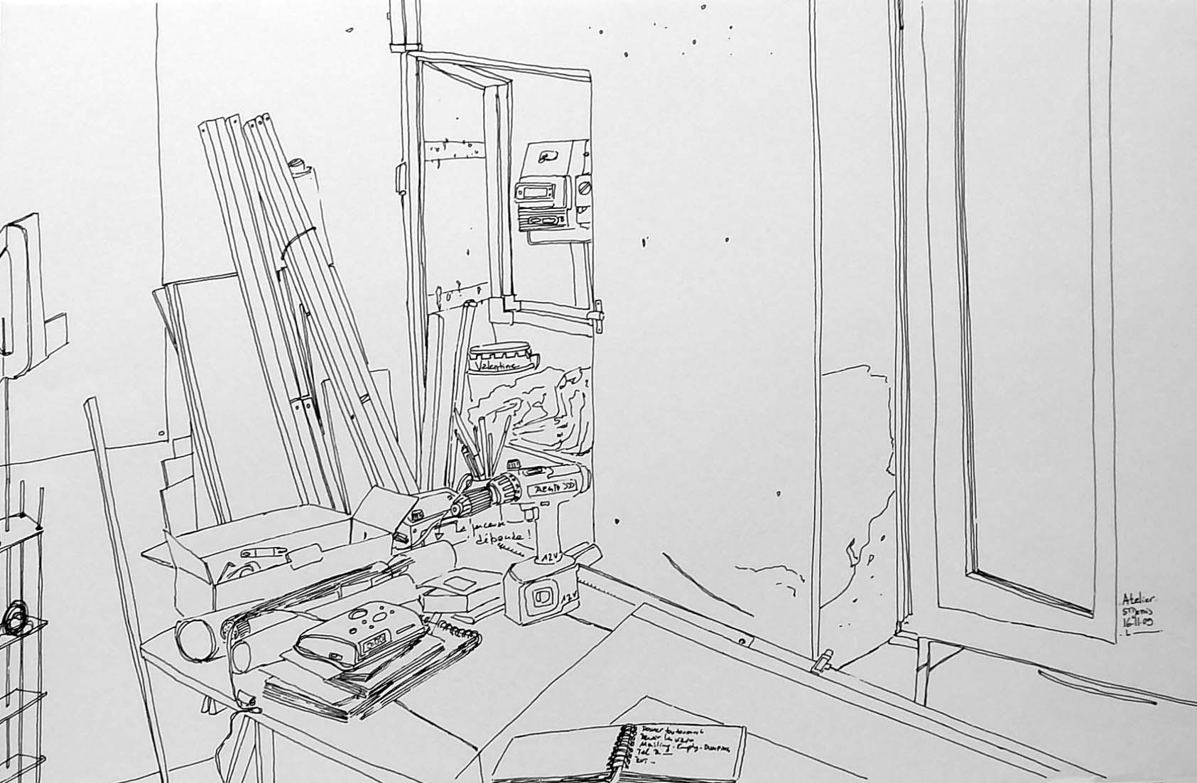 """""""Atelier de Saint-Denis"""", 17"""