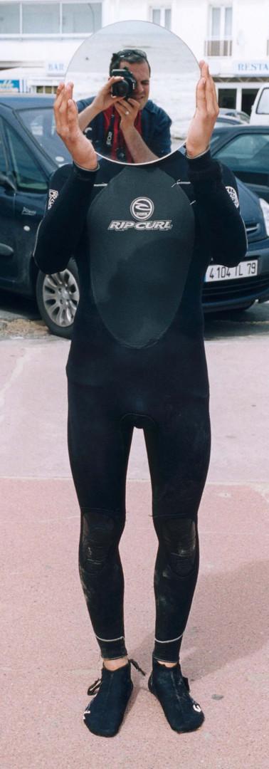 """""""Surfer miroir 7"""""""
