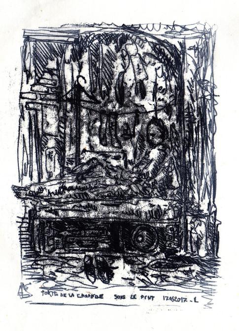 """""""Porte de la Chapelle/Paris 1"""""""