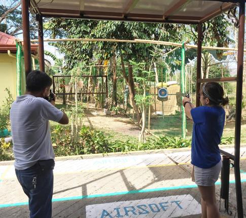 Airsoft Shooting