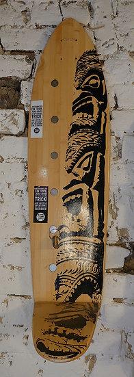 Formwechsel Longboard Ablage mit eingelassenen Magneten