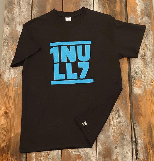 T-Shirt men schwarz 1Null7 blau