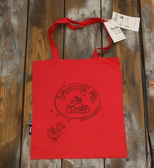 Tasche Rot (keiner mag sie, die Nazis)