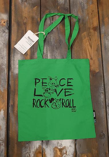 Tasche Peace Love Rock n Roll