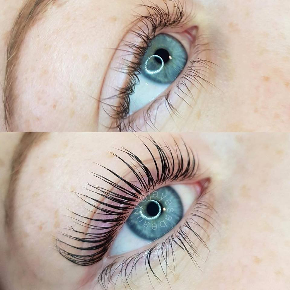 Before & After, Lash Lift & Tint