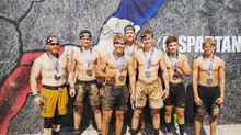 Wrestlers take on new challenge: The Spartan Race