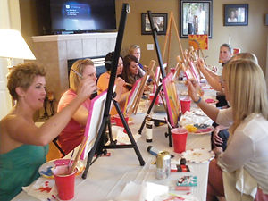 Painting Party with Judy Jewel