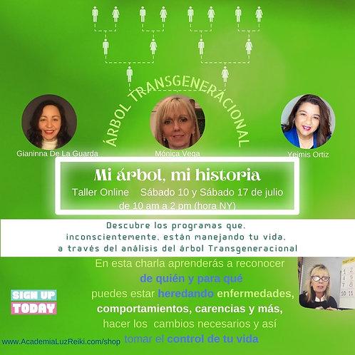 Taller Mi Familia, Mi Historia -  árbol transgeneracional